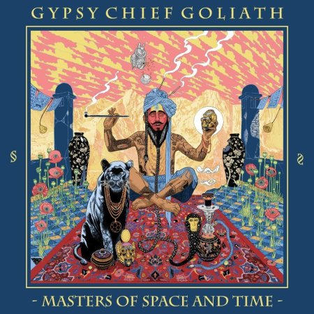 GYPSY-CHIEF-GOLIATH-Masters-Of-Space-And-Time-green-blue-white-splatter-red-circle-LP-MAILORDER-EDITION