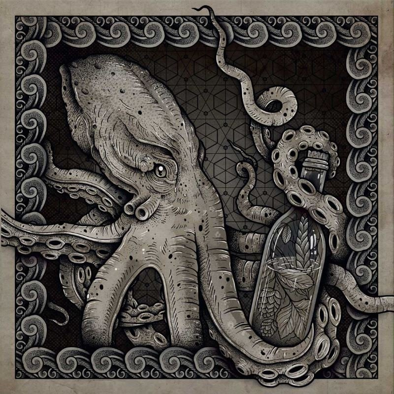 HUMULUS-The-Deep-clear-white-splatter-LP